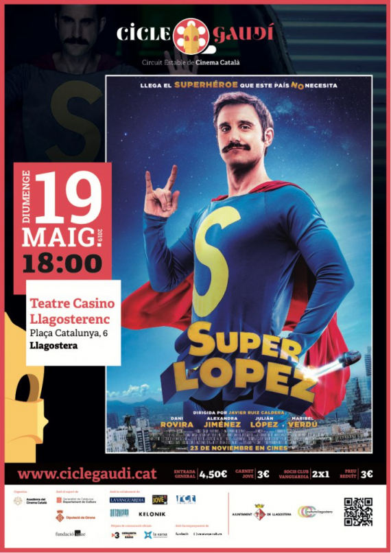 Superlopez a Llagostera