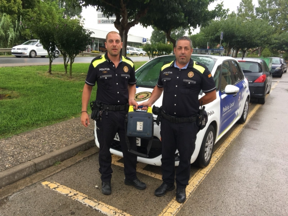 Policia Local de Llagostera