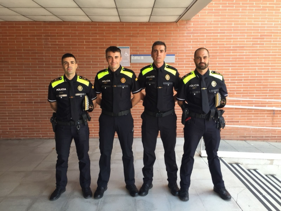 Es graduen dos agents de la Policia Local